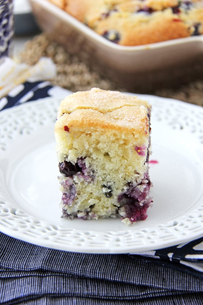 Blueberry Buttermilk Breakfast Cake