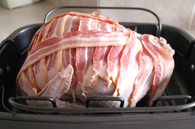 Bacon Wrapped Roast Turkey