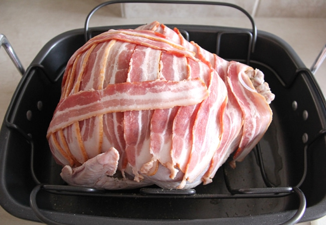 how to cook turkey bacon on the grill