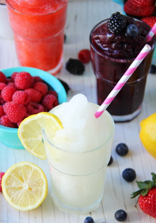 Create-Your-Own Frozen Lemonade Bar