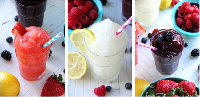 Create Your Own Frozen Lemonade Bar