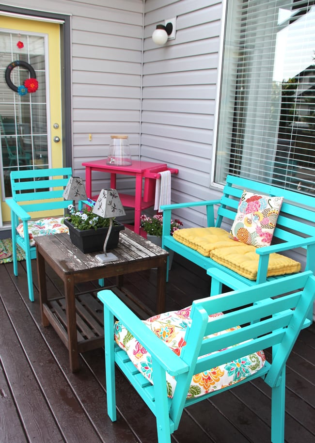 Summer Patio 9{A Pretty Life}