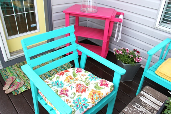Summer Patio {A Pretty Life}