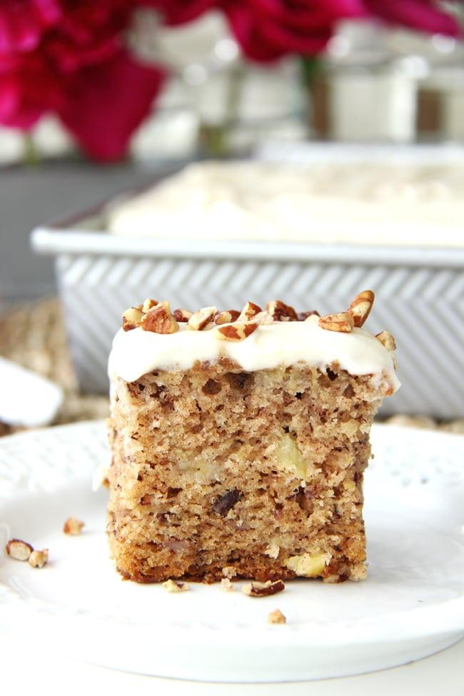 Hummingbird Sheet Cake Recipe