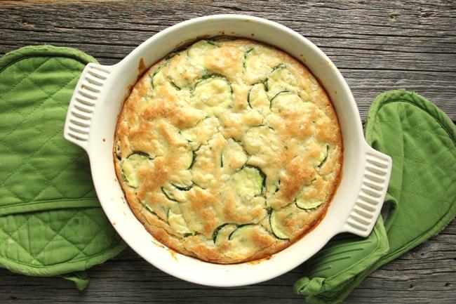 Zucchini Bake 2{A Pretty Life}
