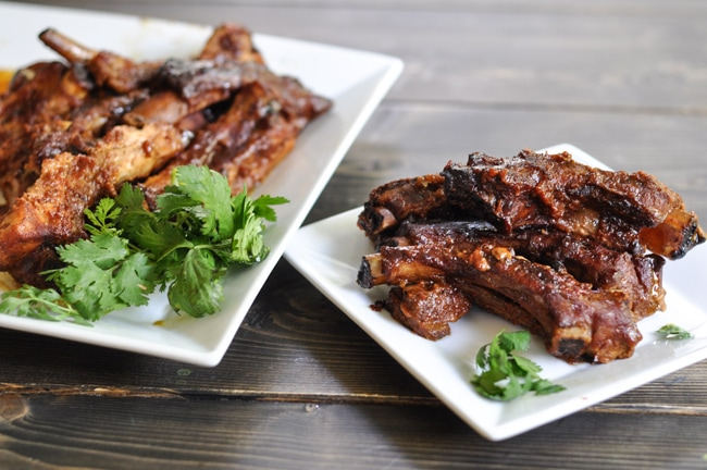 Maple Glazed Slow Cooker Ribs