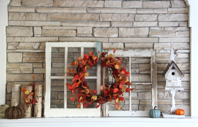 Fall Mantel 2{A Pretty Life}