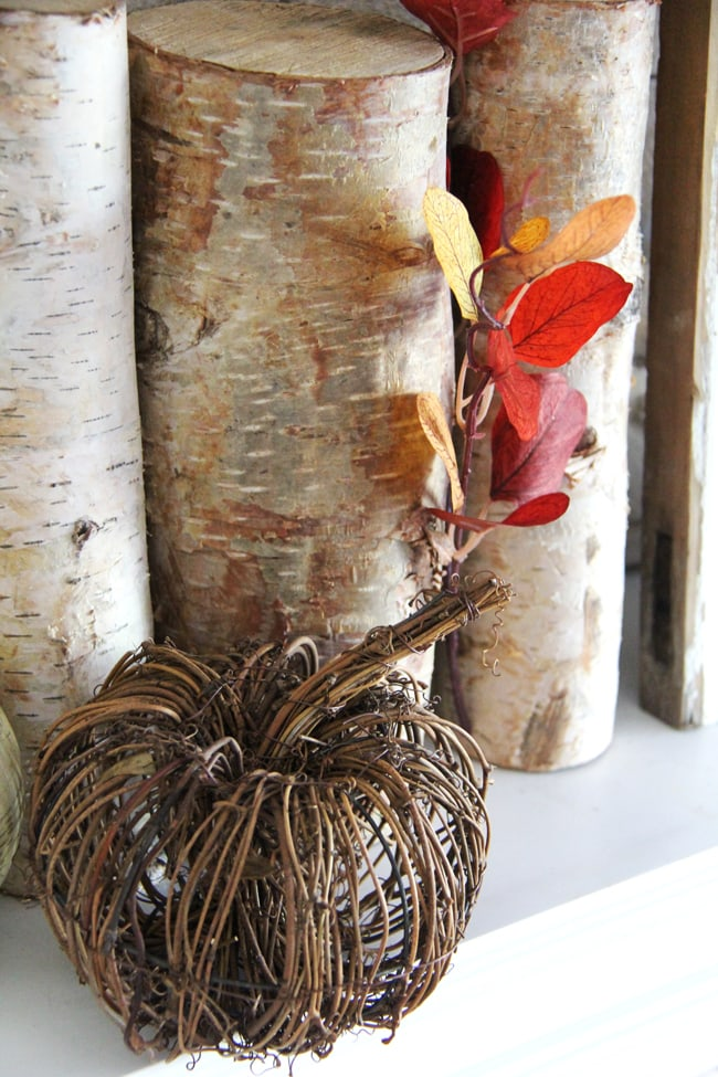 Fall Mantel 6{A Pretty Life}