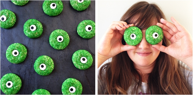Halloween Eyeball Sugar Cookies 2