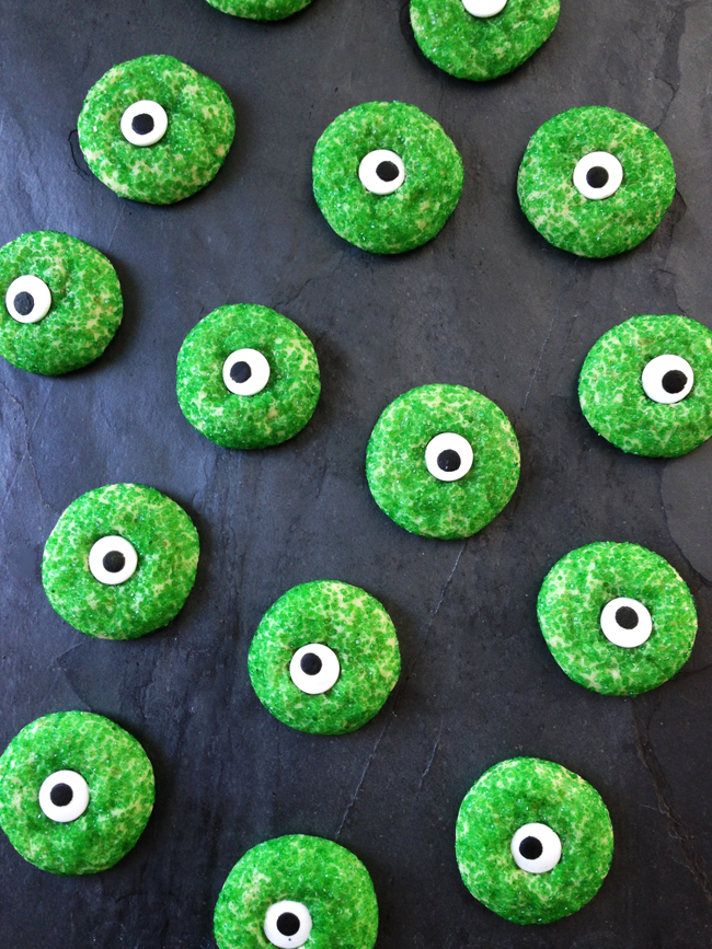 Halloween Eyeball Sugar Cookies