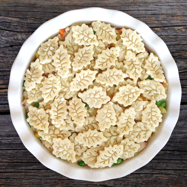 Turkey Pot Pie {A Pretty Life}