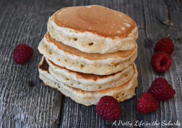 Eggnog Pancakes