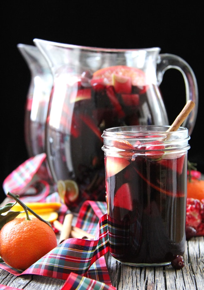 Winter Sangria {A Pretty Life}