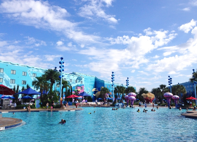 Disney's Art of Animation Resort Nemo Pool