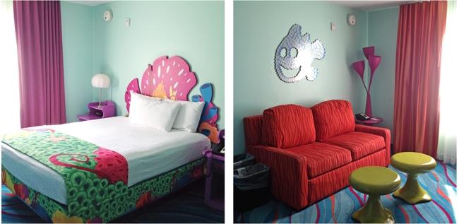 Disney's Art of Animation Resort Rooms