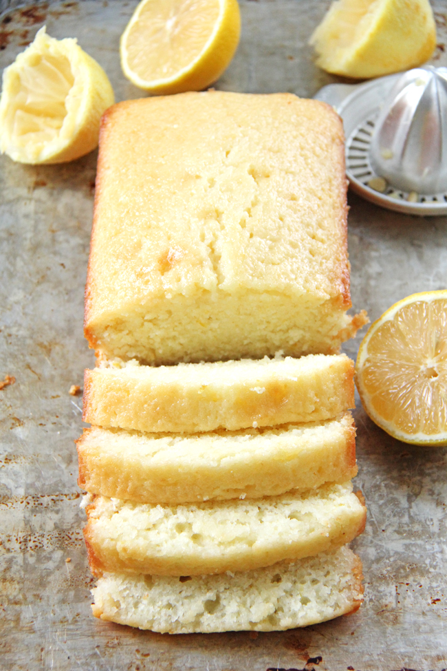 Lemon Loaf {A Pretty Life}