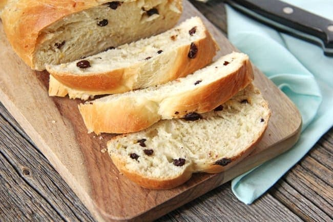 Easter Panettone Bread {A Pretty Life}