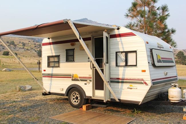 Camping Road Trip {A Pretty Life}