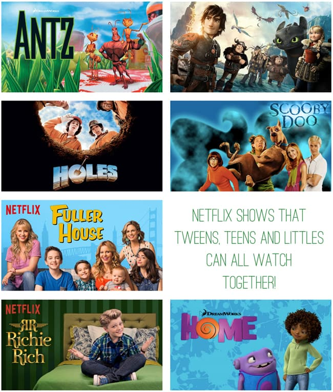 Shows on netflix for tweens