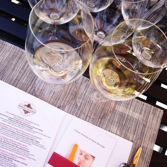 Wine and Food Tasting at Kendall-Jackson