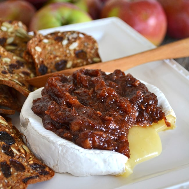 Apple Butter & Baked Brie