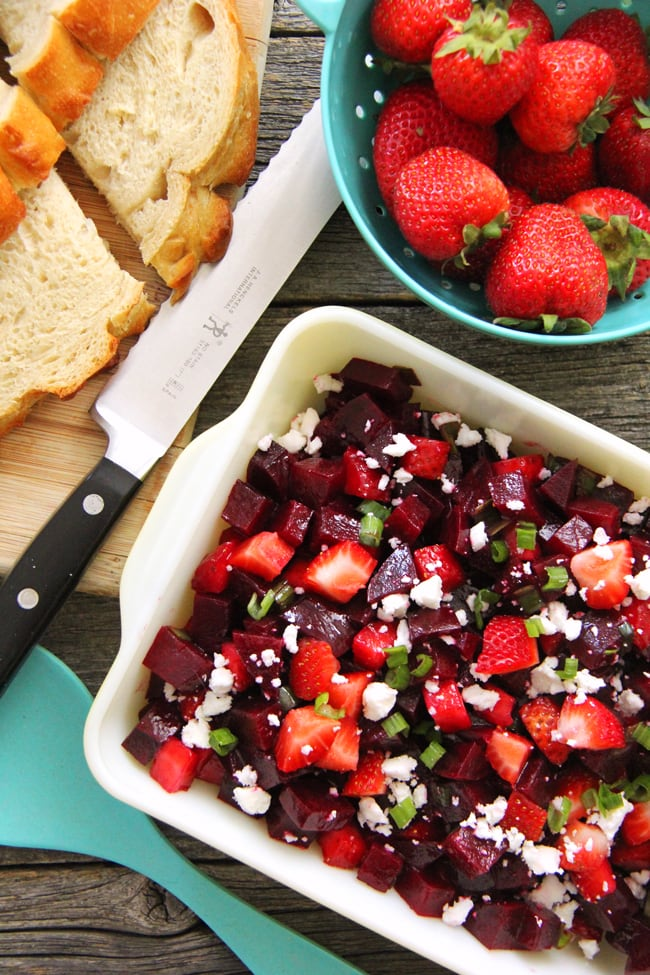 Strawberry Beet Salad