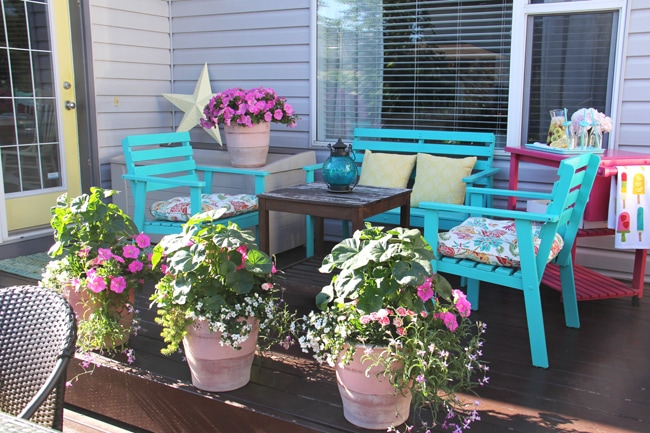 Patio Container Garden {A Pretty Life}4