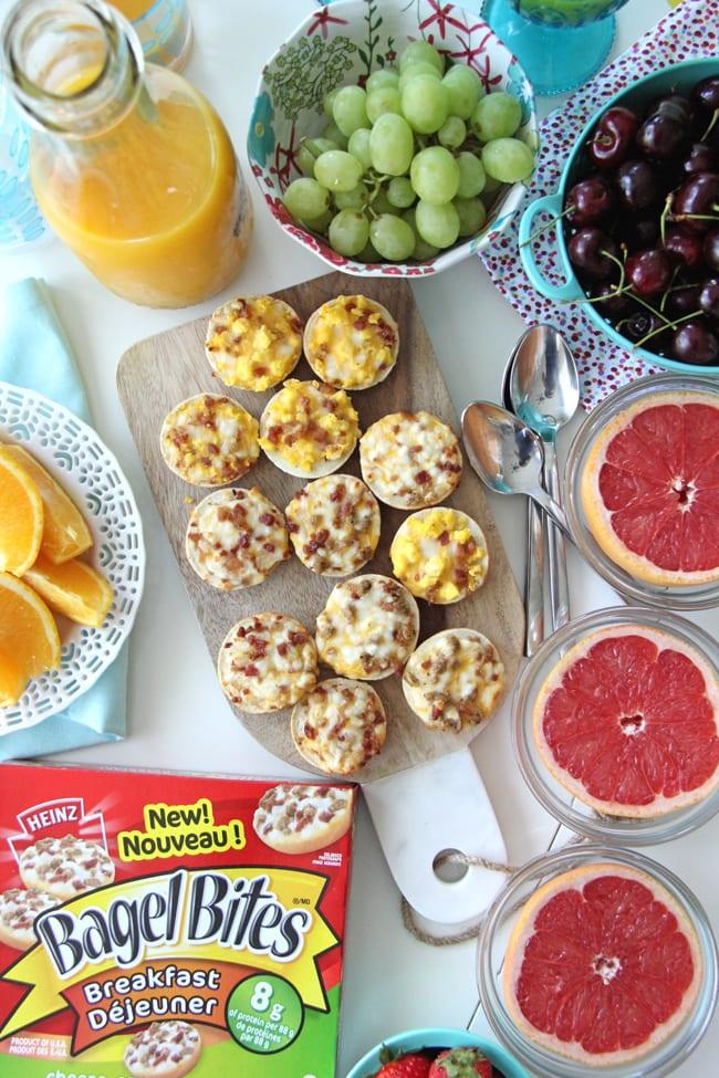 Making Back to School Mornings Easier with Bagel Bites 4