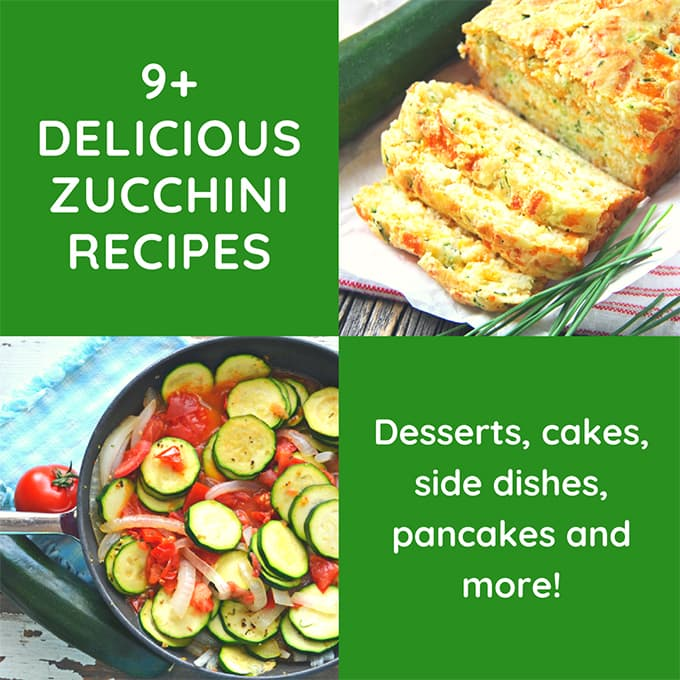 9+ Delicious Zucchini Recipes To Try