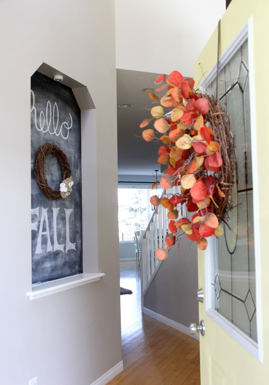 Fall Home Tour {A Pretty Life}
