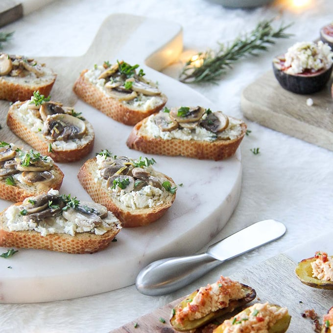 easy elegant holiday appetizers a pretty life in the suburbs