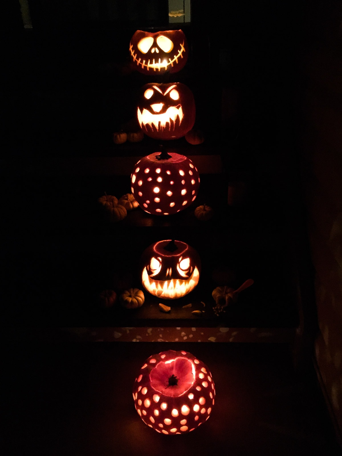 Carving Pumpkins: Pumpkin Carving Ideas - A Pretty Life In The Suburbs