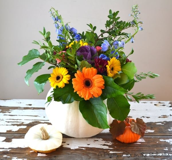 Flowers In A Pumpkin: A Pretty Life In The Suburbs