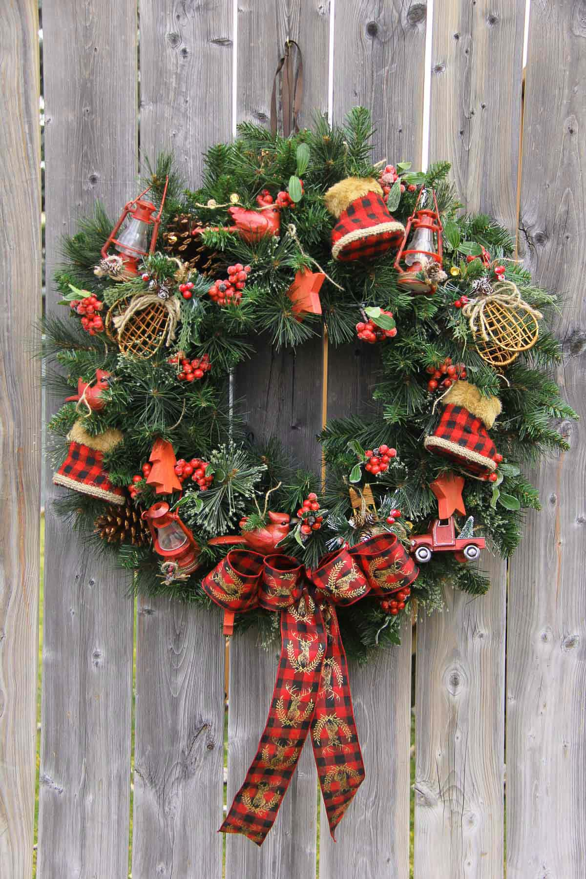 Comfort & Joy Wreath