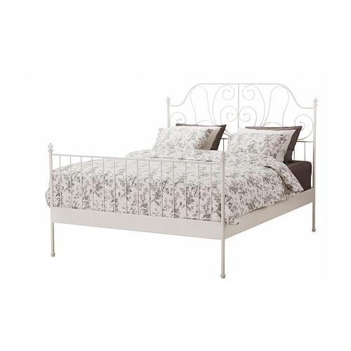 leirvik-bed-frame-white__0250175_pe388522_s4