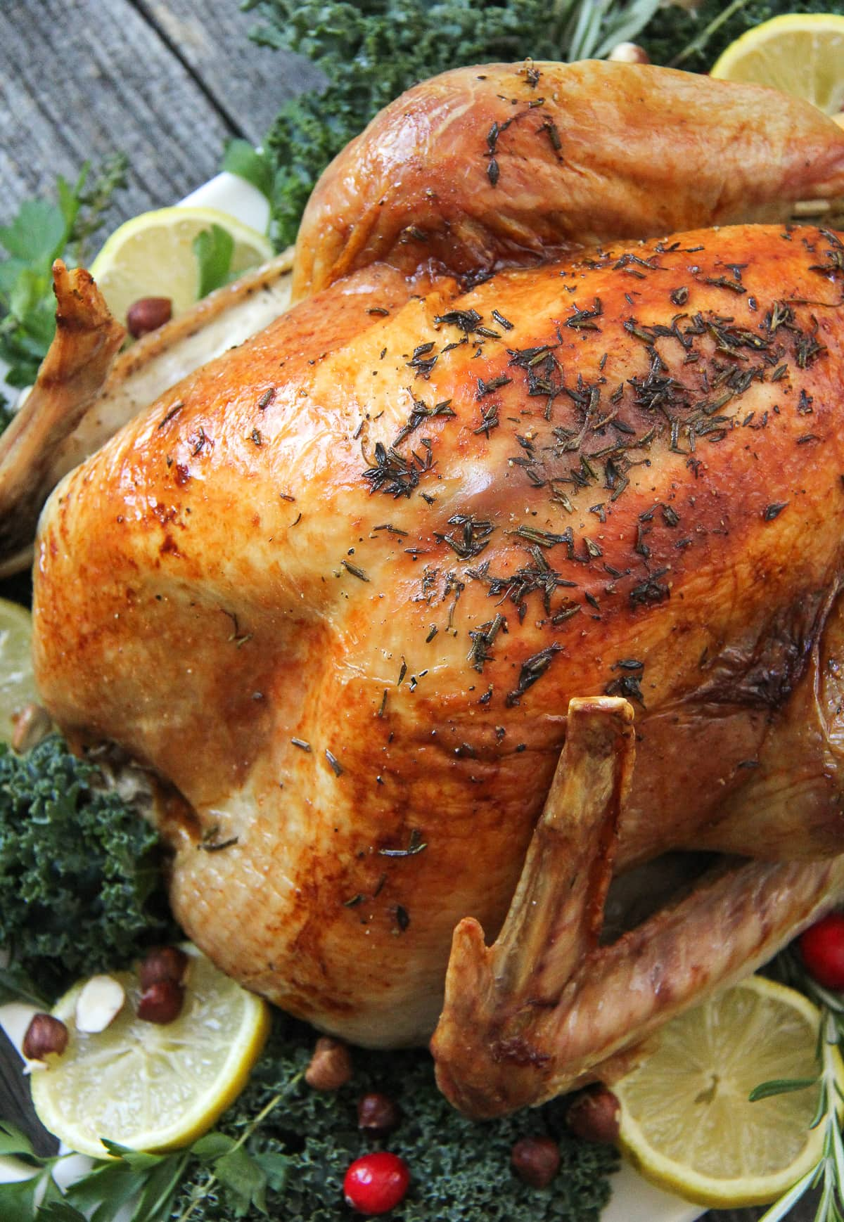 Lemon Rosemary Roasted Turkey