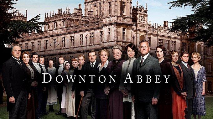 Downtown Abbey on Netflix