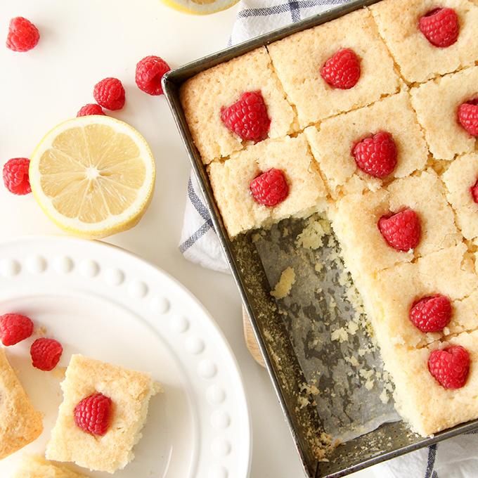 Lemon Snack Cake