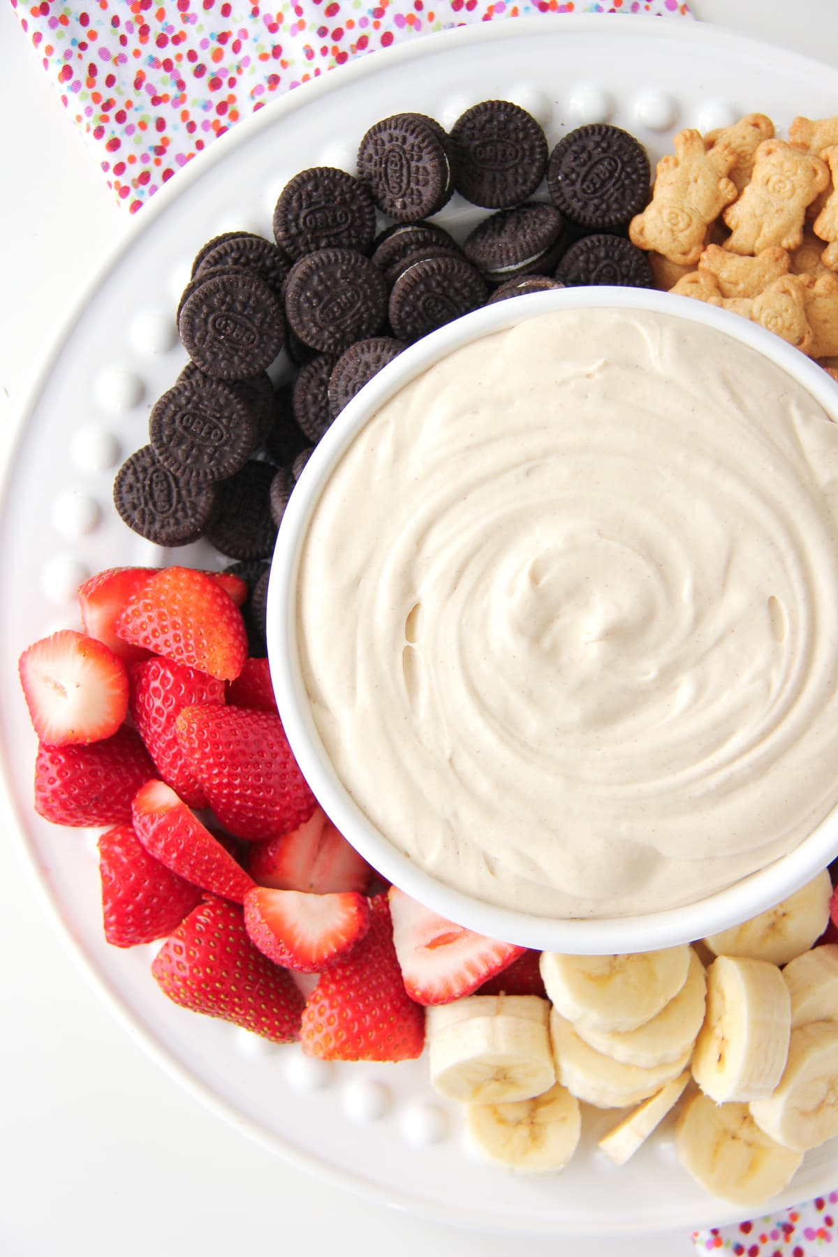 4 Ingredient Peanut Butter Marshmallow Fluff Dip