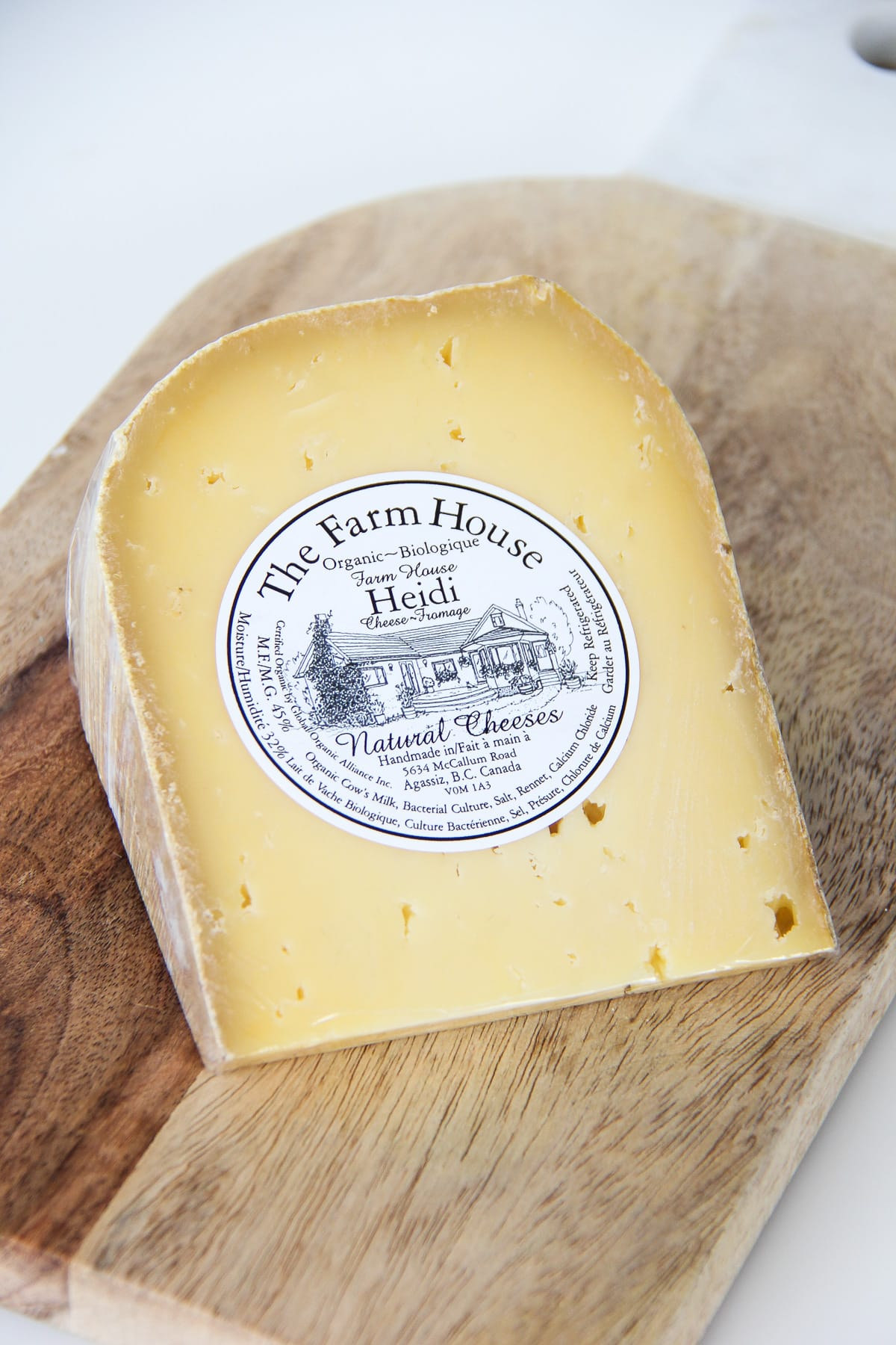 Heidi from The Farm House Natural Cheeses