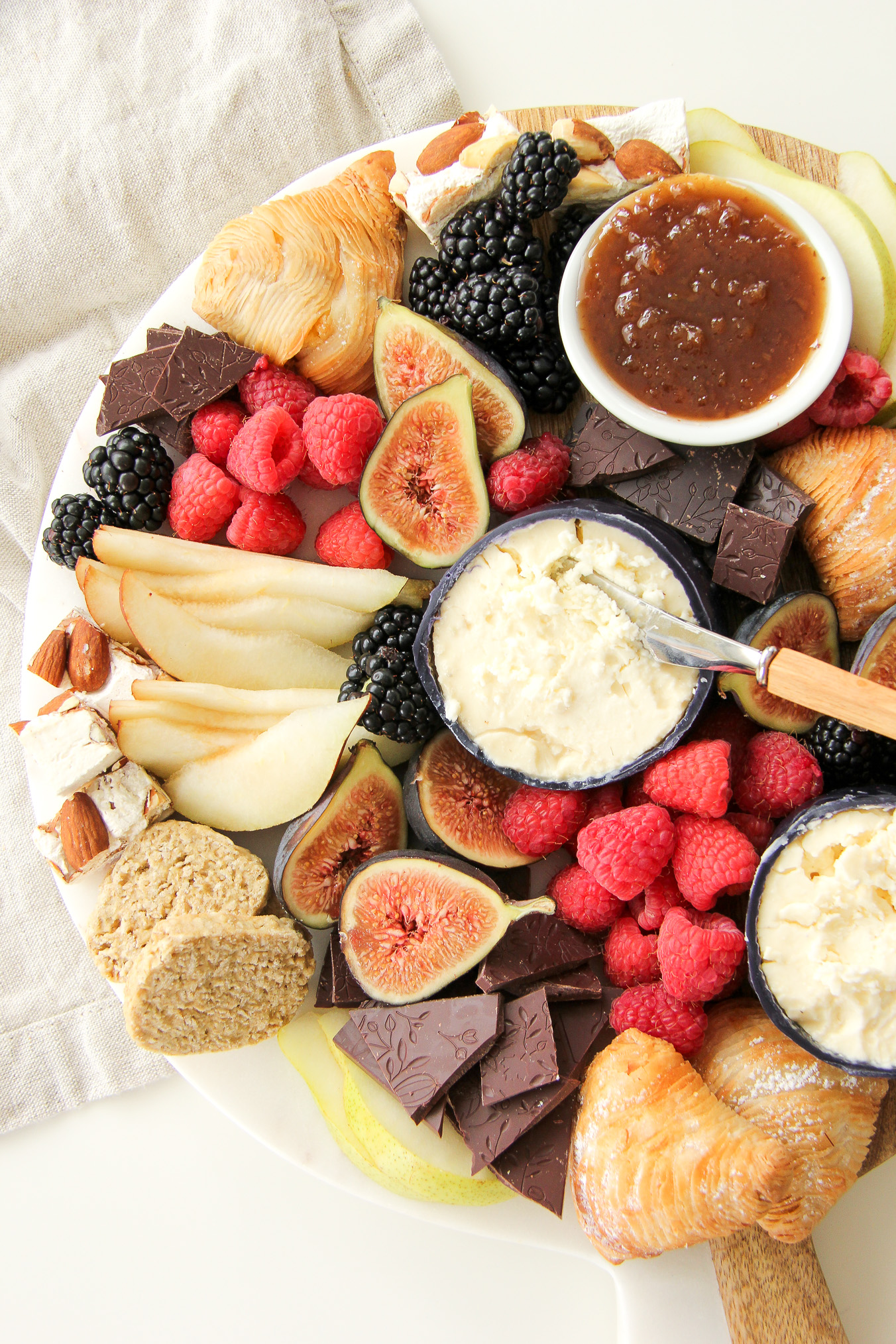 Dessert Cheese Plate & Dessert Cheese Plate - A Pretty Life In The Suburbs