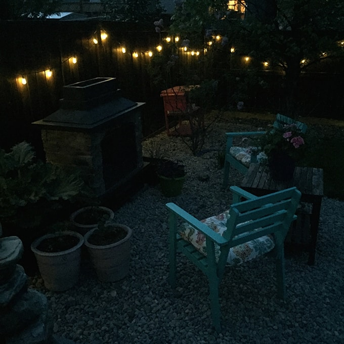 There Really Isnu0027t An Easier Way To Add Such Pretty Ambient Lighting To A  Yard! I Used The Same Hooks Along The Fence Post, As I Used For My Project  Last ...