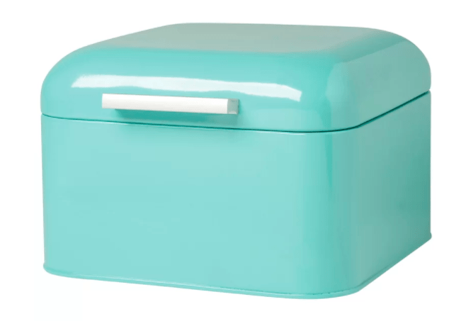 Teal Bread Box