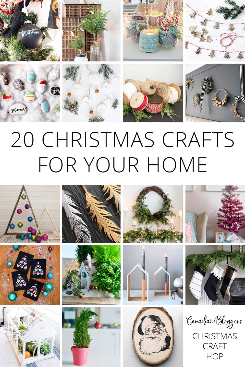 20 Christmas Crafts For Your Home