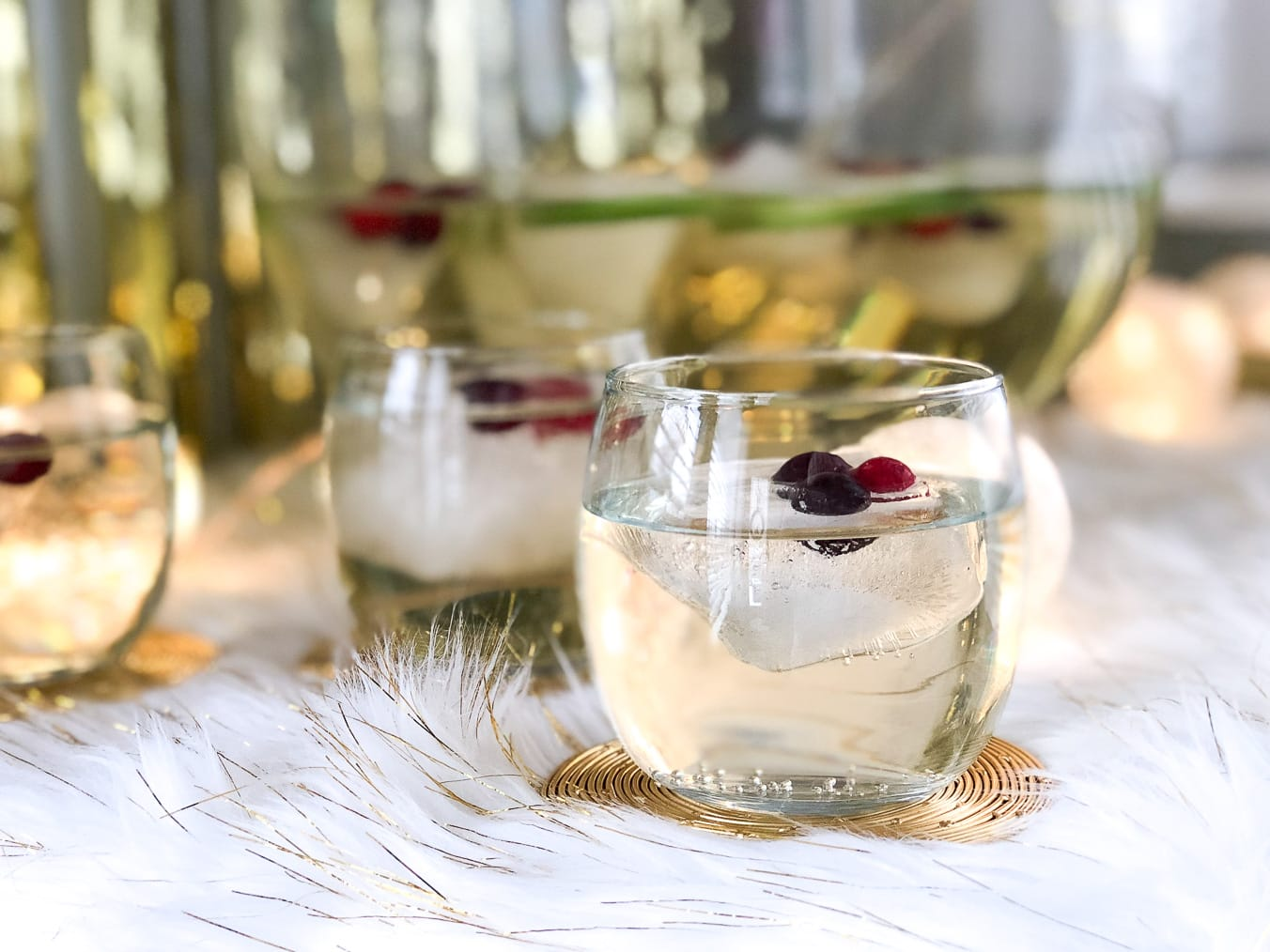 White Cranberry Punch (Non-Alcoholic)