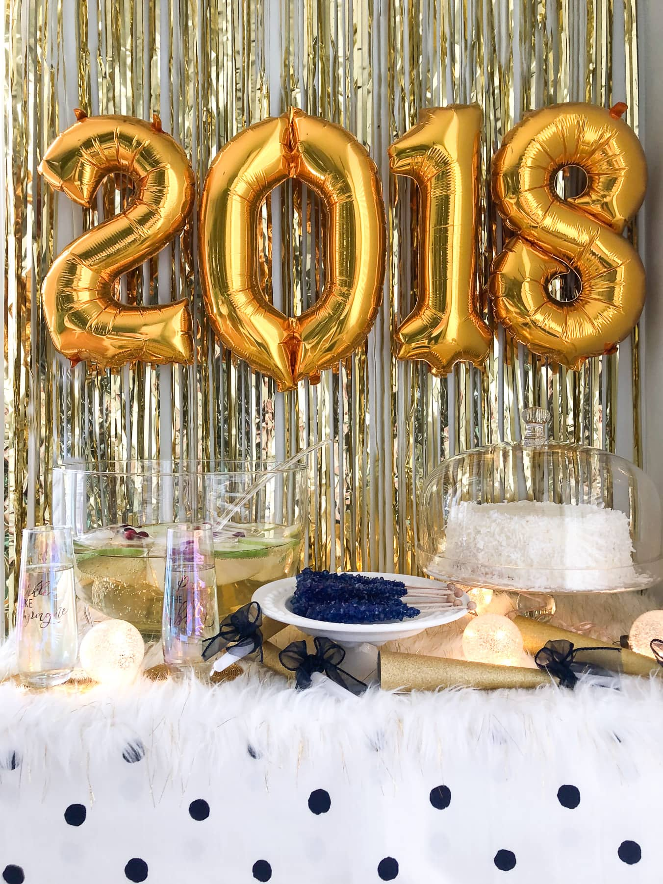 Happy New Year! 2018 New Years Eve Party Ideas