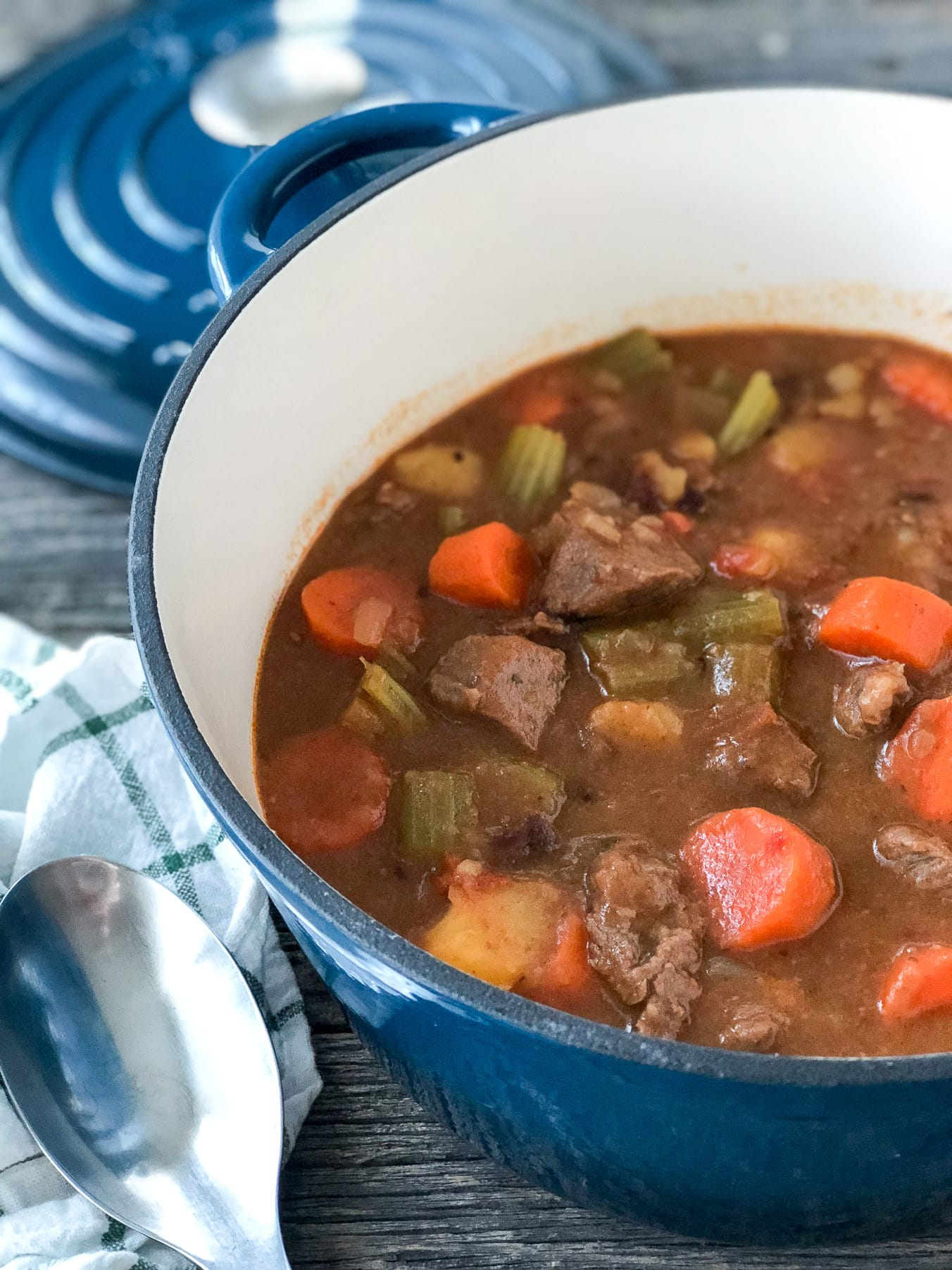 45 Minute Instant Pot Beef Stew