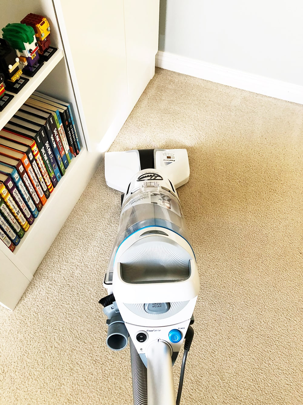Hoover's REACT™ Upright Vacuum Product Review