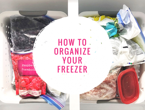How to Organize Your Freezer-F