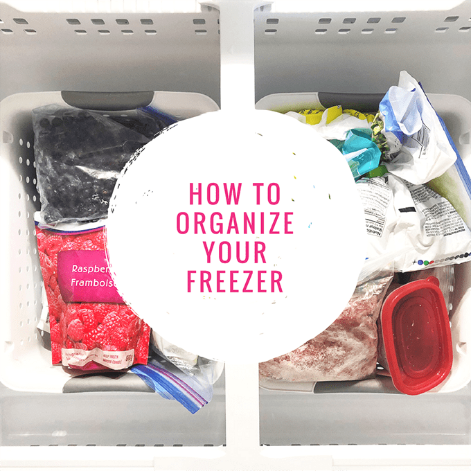 How to Organize Your Freezer-F
